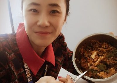 Vegetarian Meal in China