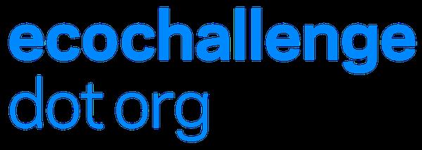 ecochallenge dot org logo